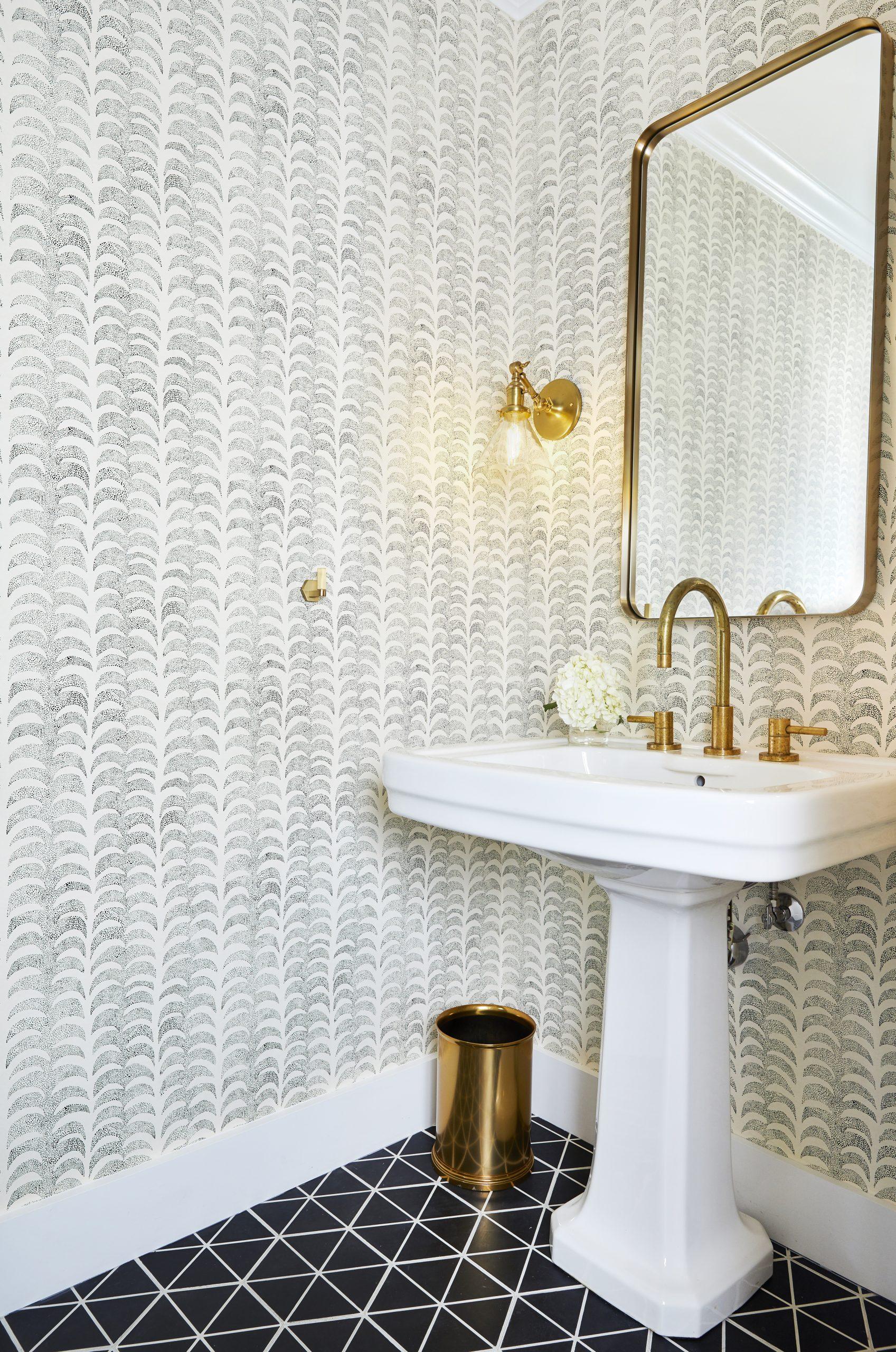 To visually represent a bathroom renovation done by Ashton & Hope in Santa Barbara, CA