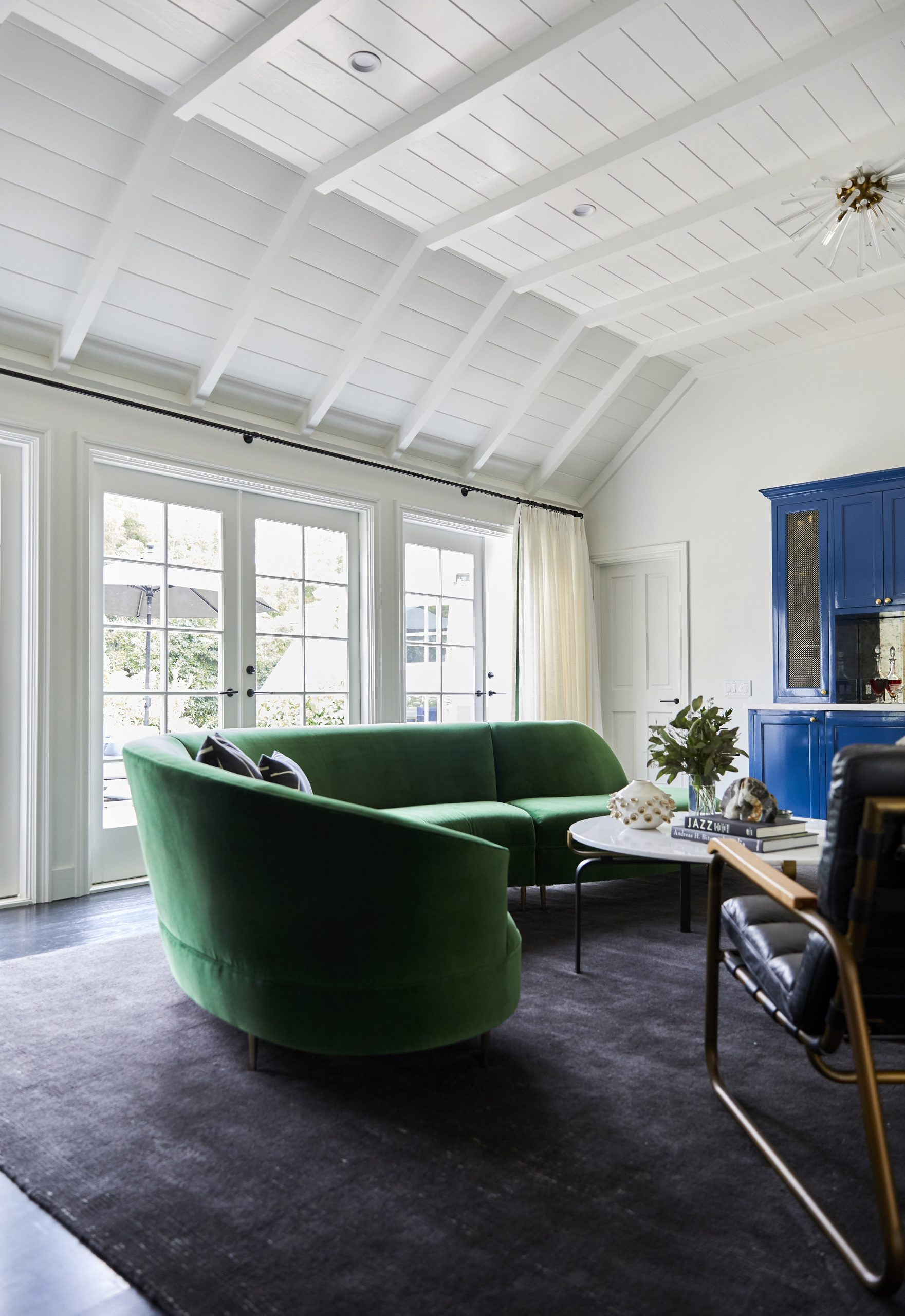 To visually represent a Santa Barbara style home built by Ashton & Hope Design Center