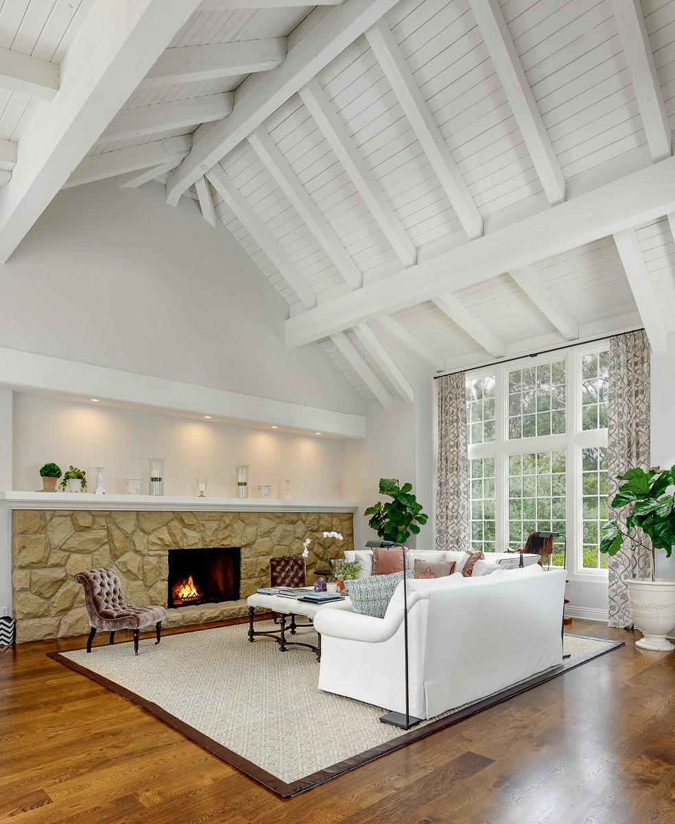 To visually represent a Santa Barbara style home built by Ashton & Hope Design Center
